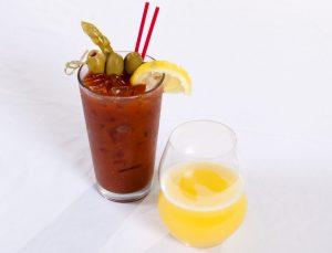 $5 Mimosas, $5 Bloody Marys & $5 Caesars