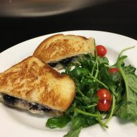 Blueberry Brie Grilled Cheese
