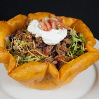 'Club' Taco Salad