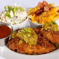 Green Chili Fried Chicken