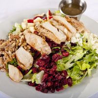 Walnut Chicken Apple Salad